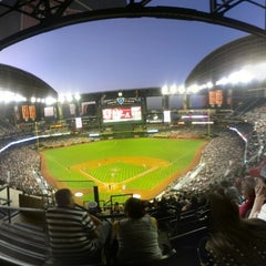 Photo taken at Chase Field by Robert S. on 4/27/2013