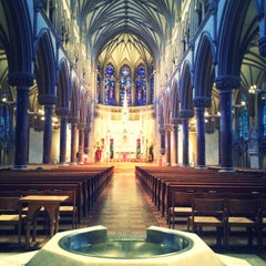Photo taken at Saint Francis Xavier College Church by Gabrielle A. on 3/21/2013