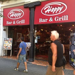 Photo taken at Happy Bar and Grill by Anastasiya V. on 8/23/2013