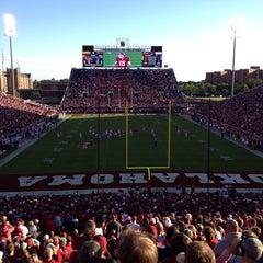 Photo taken at University of Oklahoma by Tyler on 10/6/2013