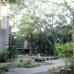 Photo taken at CAC - Centro de Artes e Comunicação by Rhandysson B. on 5/23/2013