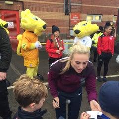 Photo taken at Ashton Gate Stadium by Ady C. on 11/29/2015