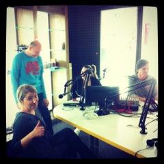 Photo taken at Radio808 by Matija R. on 4/17/2014