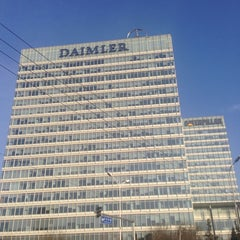 Photo taken at 戴姆勒大厦 Daimler Tower by Jerry L. on 2/27/2014