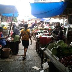 Photo taken at Pasar Induk Kramat Jati by Diah N. on 2/21/2015