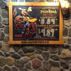 Photo taken at Pizza Ranch by Pimpaporn T. on 1/31/2014