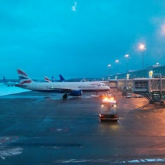 Photo taken at Terminal 5 by William on 2/13/2013