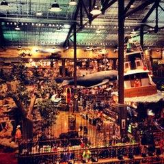 Photo taken at Bass Pro Shops by Gabriel P. on 8/3/2012