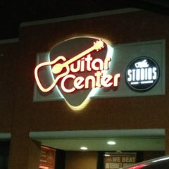 Photo taken at Guitar Center by Charu S. on 3/30/2013