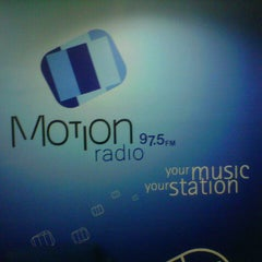 Photo taken at Motion radio studio by Dion D. on 5/3/2013