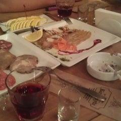 Photo taken at Ресторан на воде «Барракуда» by Artur S. on 5/7/2013