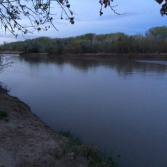 Photo taken at Rio Grande River by Charles V. on 4/10/2014