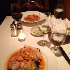 Photo taken at Aroma Osteria Restaurant by Nick K. on 8/10/2013