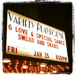 Photo taken at Variety Playhouse by Bill B. on 1/26/2013