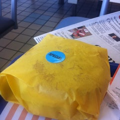 Photo taken at Whataburger by Robert S. on 12/21/2012