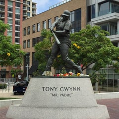 Photo taken at Tony Gwynn Statue by Linzey H. on 6/16/2015