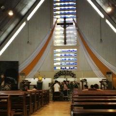 Photo taken at Gereja St. Ignatius Loyola by Teddy L. on 5/4/2013