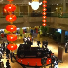 Photo taken at Crowne Plaza Shanghai | 上海银星皇冠酒店 by Seven Z. on 3/21/2013