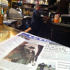 Photo taken at Café le Soufflot by Renaud F. on 1/30/2015