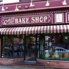 Photo taken at Carlo's Bake Shop by Bill V. on 5/9/2013
