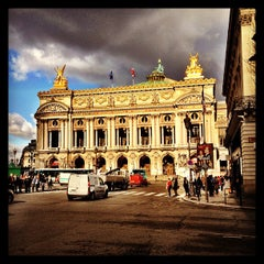 Photo taken at Place de l'Opéra by Basile F. on 2/6/2013