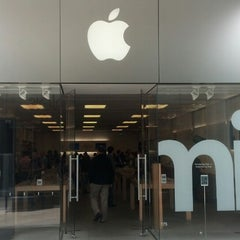 Photo taken at Apple Store, Century City by James R. on 3/26/2013