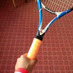 Photo taken at Zuilense Tennis Club by Eunice K. on 4/18/2014