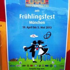 Photo taken at Hippodrom Festzelt by Verusha on 5/5/2013