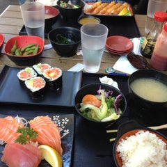 Photo taken at Sushi on Stanley by Ieva V. on 1/29/2013