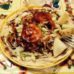"""Photo taken at Quetza-Pizzas """"Xangari"""" by Dani V. on 1/15/2014"""
