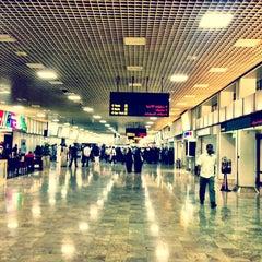Photo taken at Bahrain International Airport (BAH) | مطار البحرين الدولي by Mohamed M. on 2/8/2013