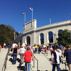 Photo taken at California Memorial Stadium by David C. on 9/14/2013