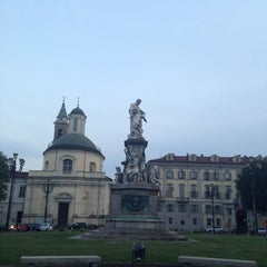 Photo taken at Piazza Carlina by Elena R. on 7/22/2013