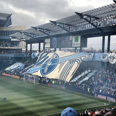Photo taken at Sporting Park by Fountain R. on 3/16/2013