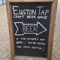Photo taken at The Euston Tap by Nick C. on 6/2/2013