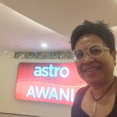 Photo taken at Astro Awani by Jasmin M. on 7/16/2014