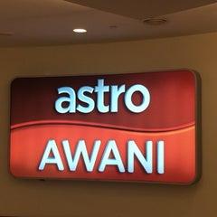 Photo taken at Astro Awani by Jasmin M. on 4/21/2016