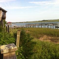Photo taken at Bowen's Island Restaurant by Kim A. on 6/8/2013