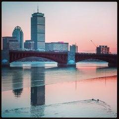 Photo taken at Longfellow Bridge by Jeff P. on 1/6/2013