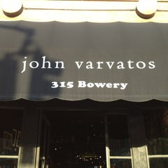 Photo taken at John Varvatos Bowery NYC by Andrew G. on 5/15/2013