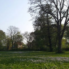 Photo taken at Ernst-Ehrlicher-Park by Sven H. on 5/4/2013