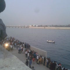 Photo taken at Sabarmati River Front by Dhaval S. on 1/13/2013