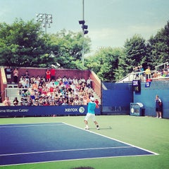 Photo taken at Court 13 - USTA Billie Jean King National Tennis Center by Greg B. on 8/26/2013