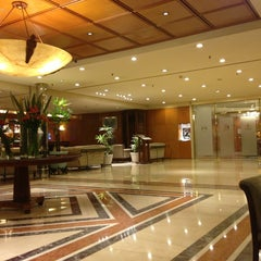 Photo taken at Sheraton Buenos Aires Hotel & Convention Center by Massimo O. on 4/6/2013