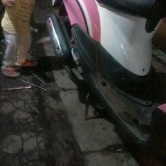 Photo taken at Jalan RW Monginsidi by Lindsay Junie M. on 10/1/2013