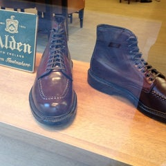 Photo taken at Alden New England Shoes by Robert H. on 9/14/2012