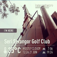 Photo taken at Seri Selangor Golf Club by Abd Samad M. on 6/21/2013