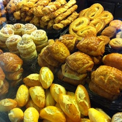 Photo taken at Brot Bakery & Cafe by Carlos O. on 9/3/2011