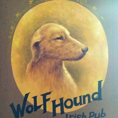 Photo taken at The Wolfhound IRISH PUB by Marc L. on 6/23/2013