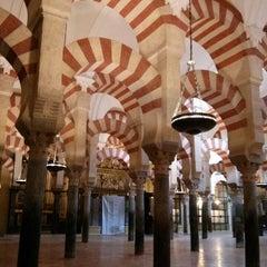 Photo taken at Mezquita-Catedral de Córdoba by Joxean N. on 3/28/2013